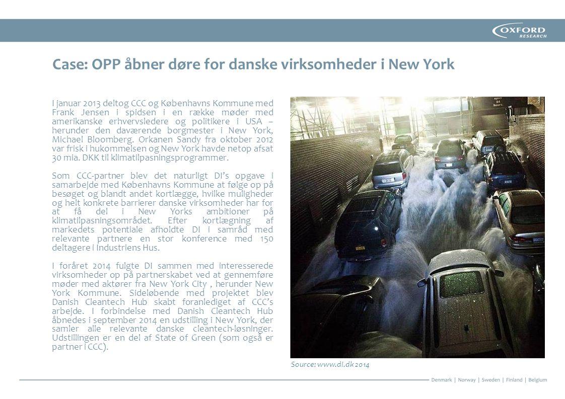 Case: OPP åbner døre for danske virksomheder i New York