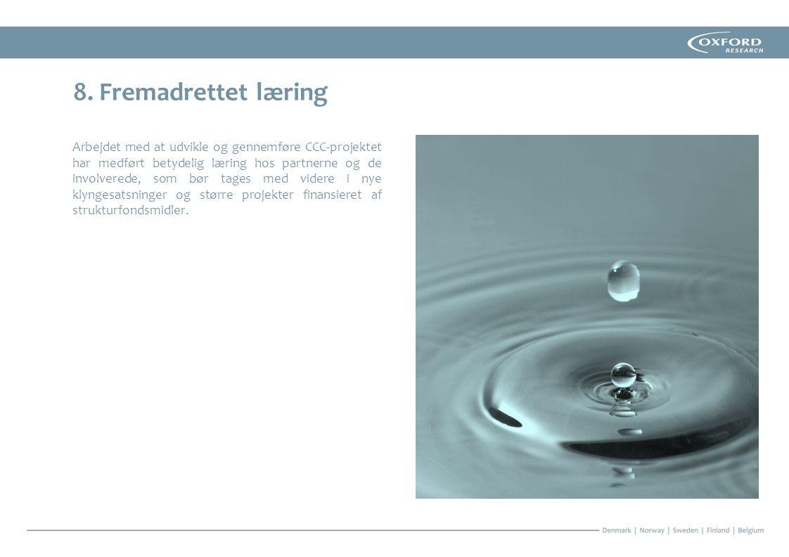 8. Fremadrettet læring