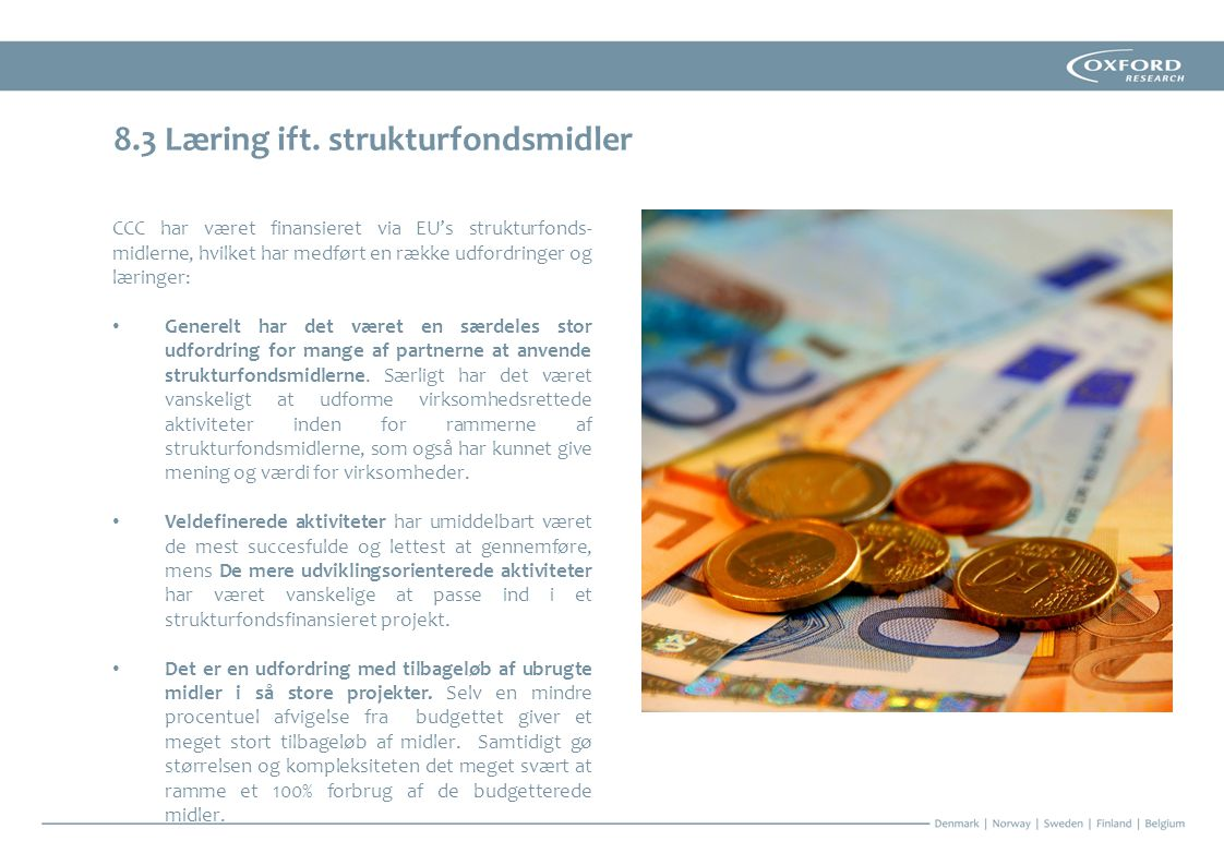 8.3 Læring ift. strukturfondsmidler
