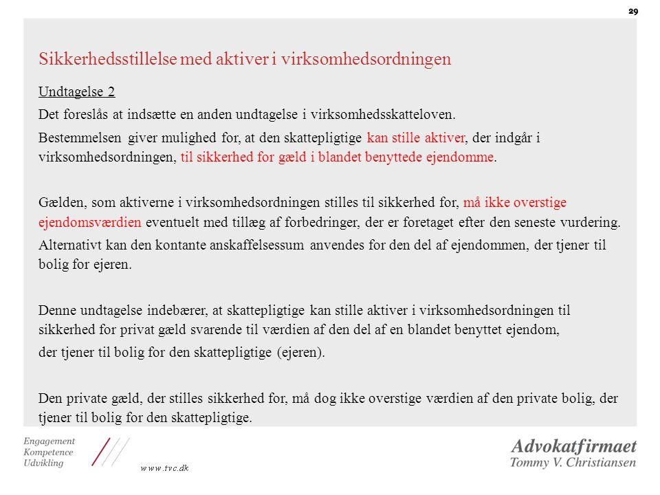 Ændring af virksomhedsskatteloven - ppt download