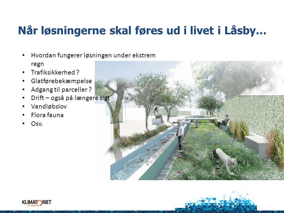 Når løsningerne skal føres ud i livet i Låsby…