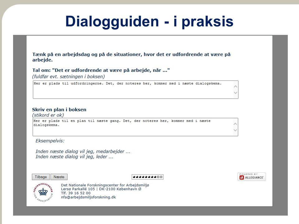 Dialogguiden - i praksis