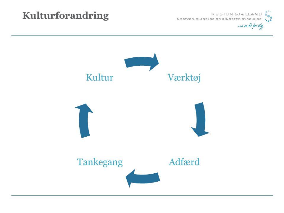 Kulturforandring Værktøj Adfærd Tankegang Kultur