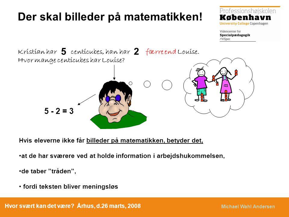 Der skal billeder på matematikken!