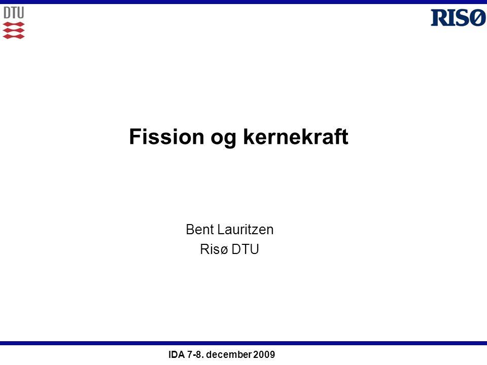 Bent Lauritzen Risø DTU