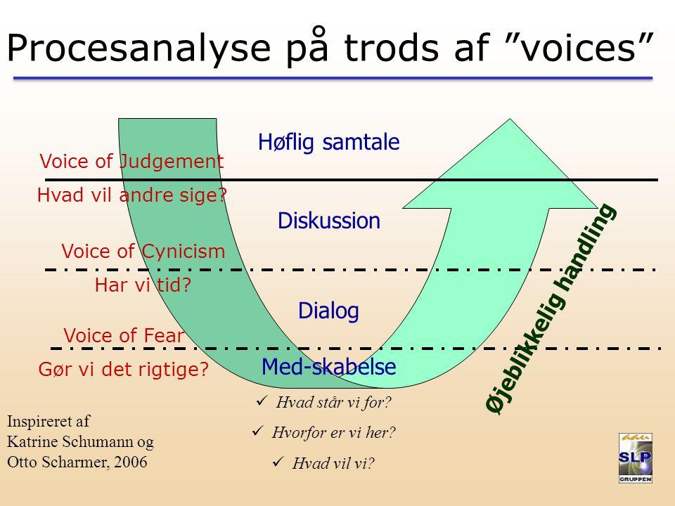 Procesanalyse på trods af voices