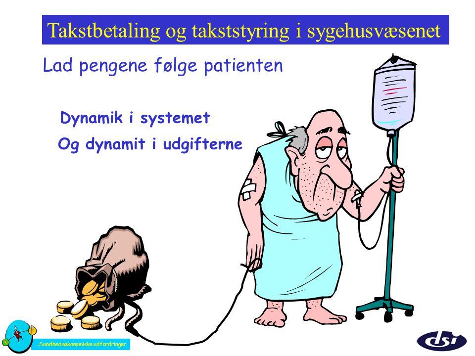 Takstbetaling og takststyring i sygehusvæsenet