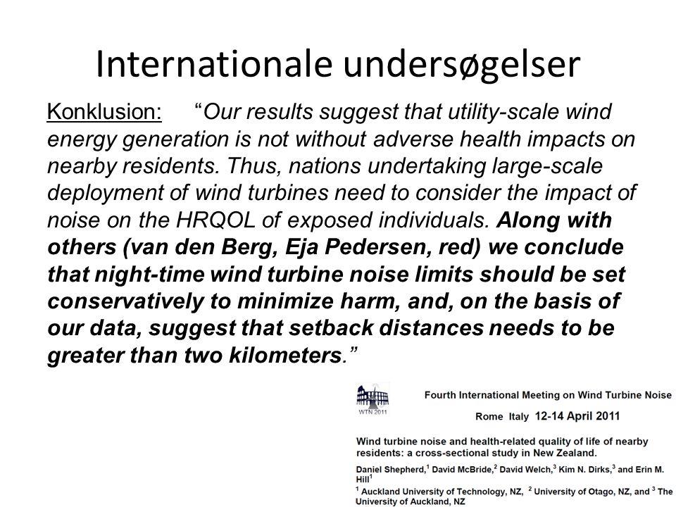 Internationale undersøgelser