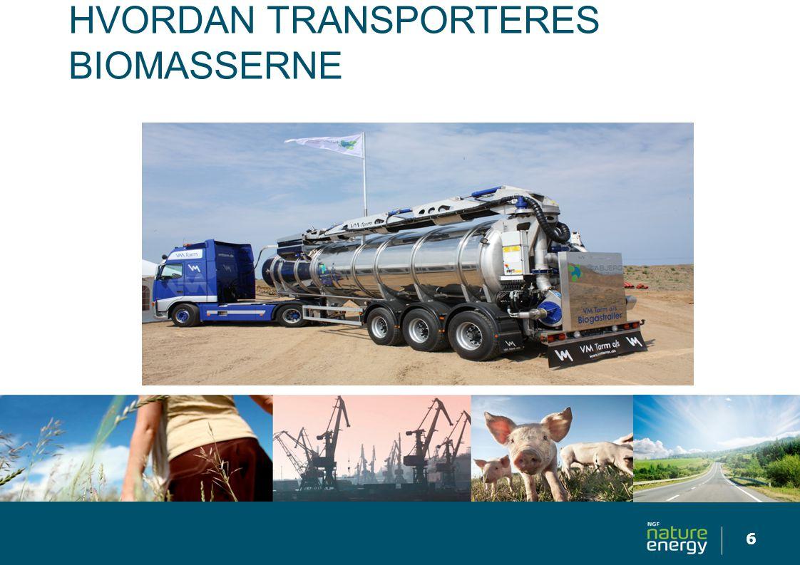 Hvordan Transporteres biomasserne