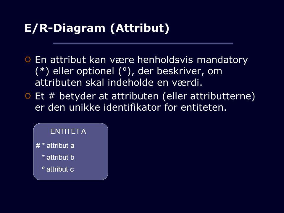 E/R-Diagram (Attribut)