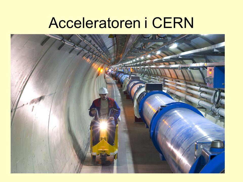Acceleratoren i CERN