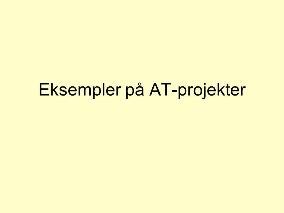 Eksempler på AT-projekter