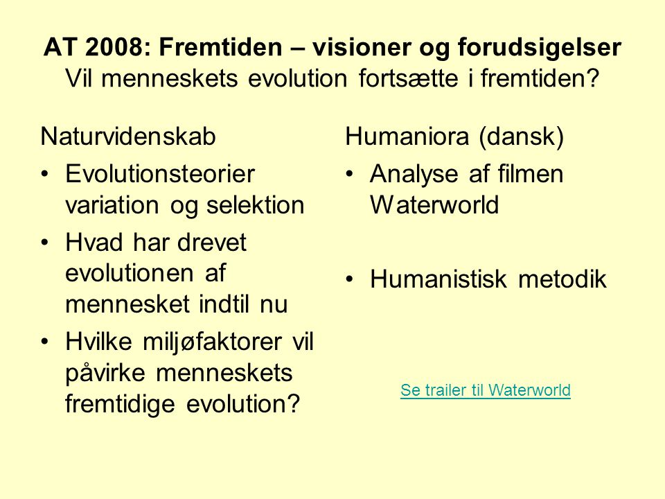 Evolutionsteorier variation og selektion