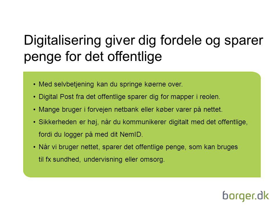 Digitalisering giver dig fordele og sparer penge for det offentlige