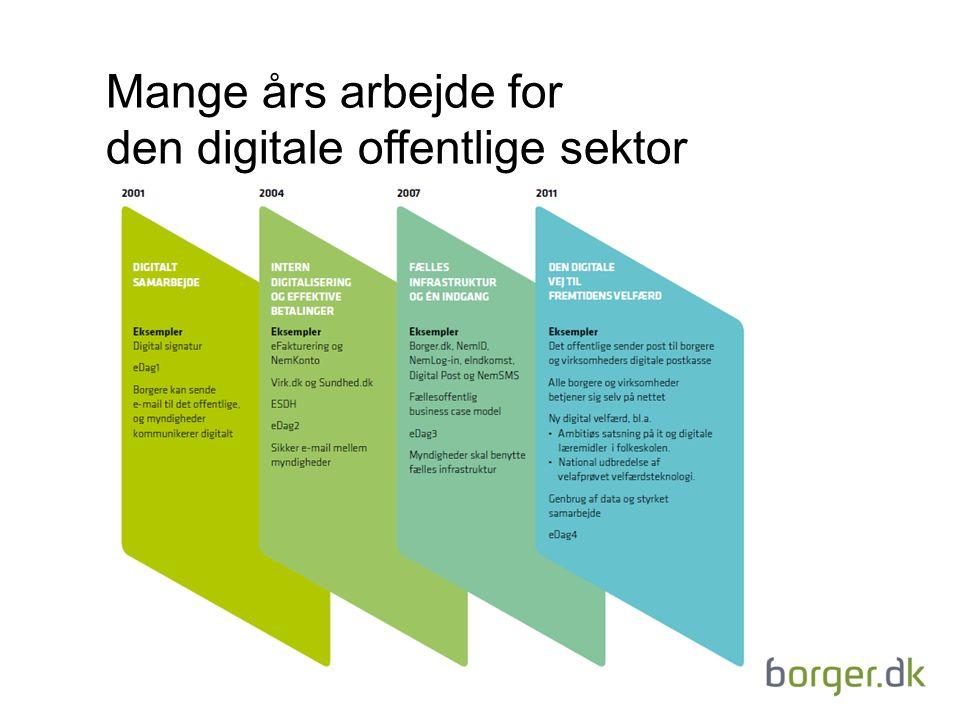 den digitale offentlige sektor