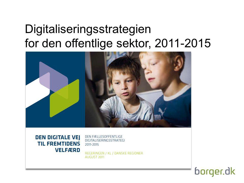 Digitaliseringsstrategien for den offentlige sektor, 2011-2015