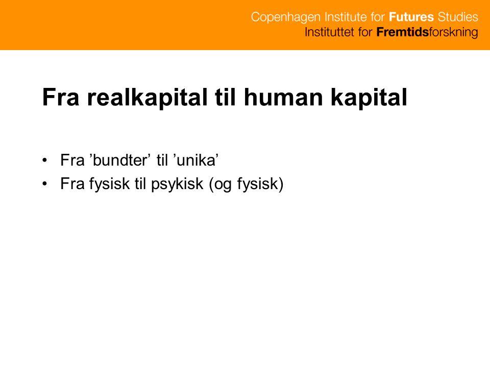 Fra realkapital til human kapital