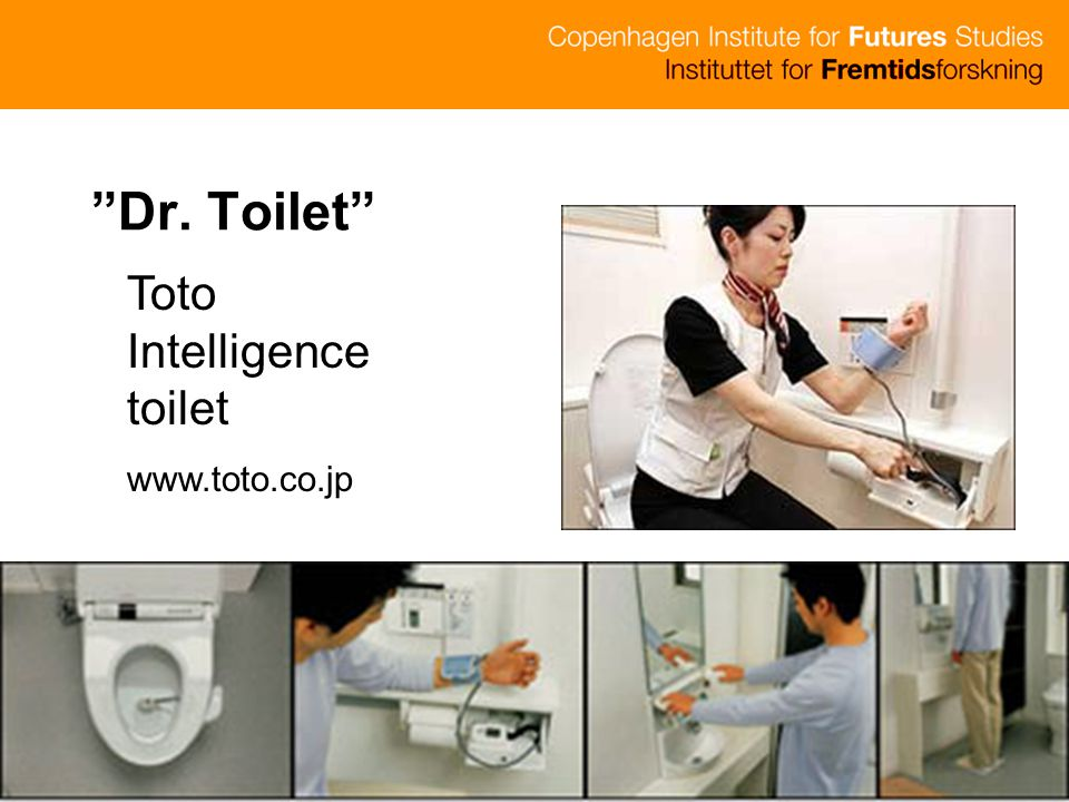 Dr. Toilet Toto Intelligence toilet www.toto.co.jp