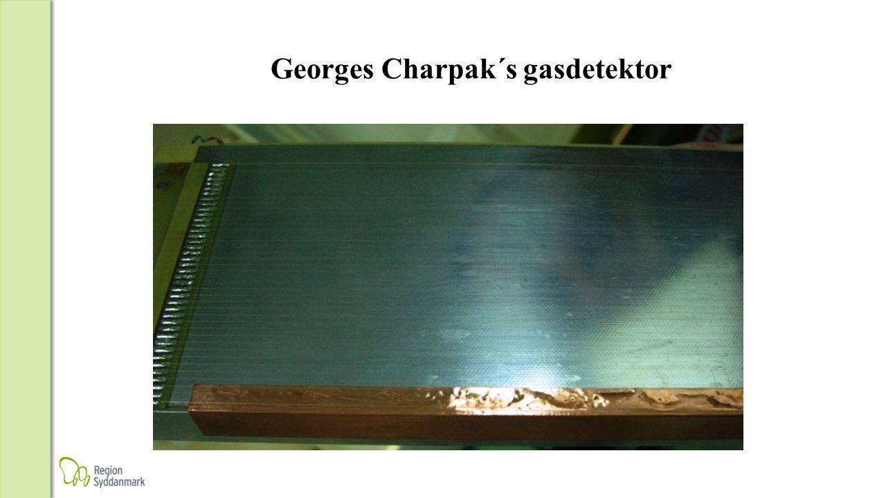 Georges Charpak´s gasdetektor