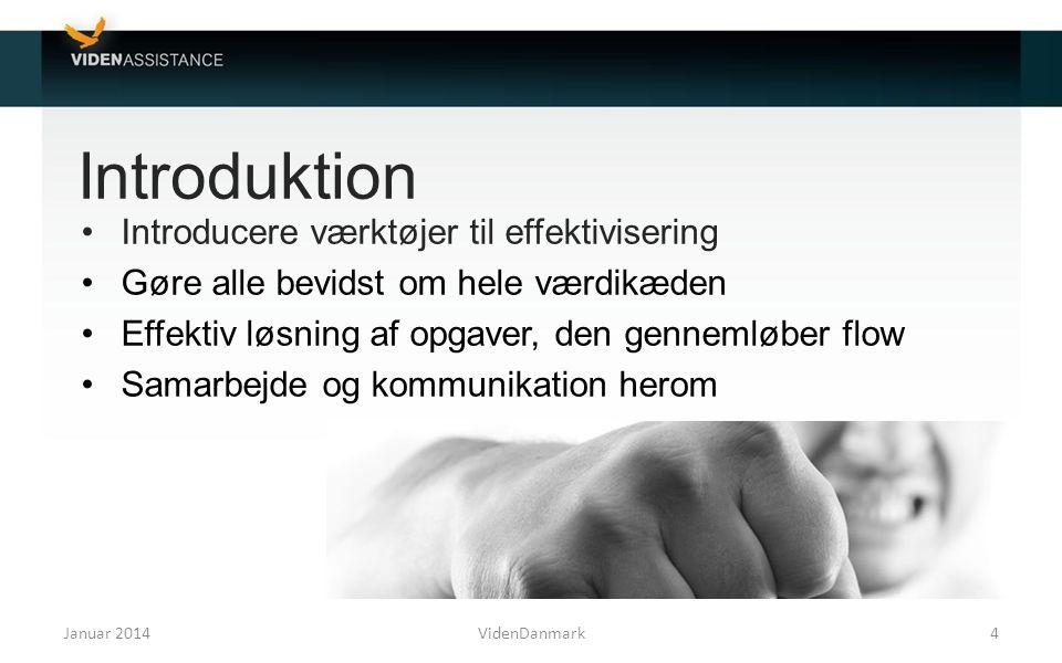 Introduktion Introducere værktøjer til effektivisering