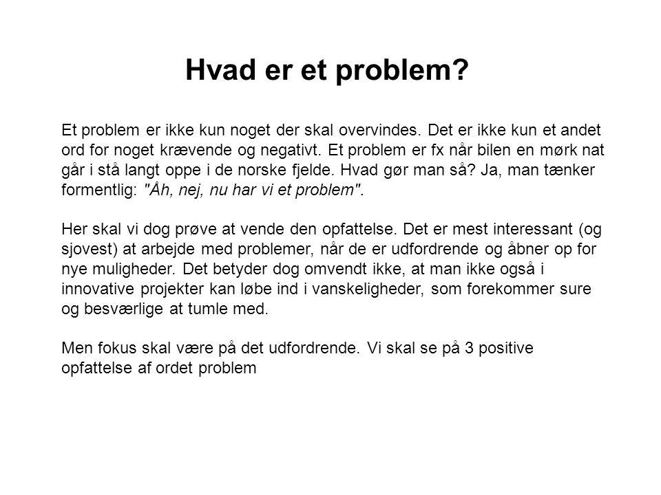 Hvad er et problem