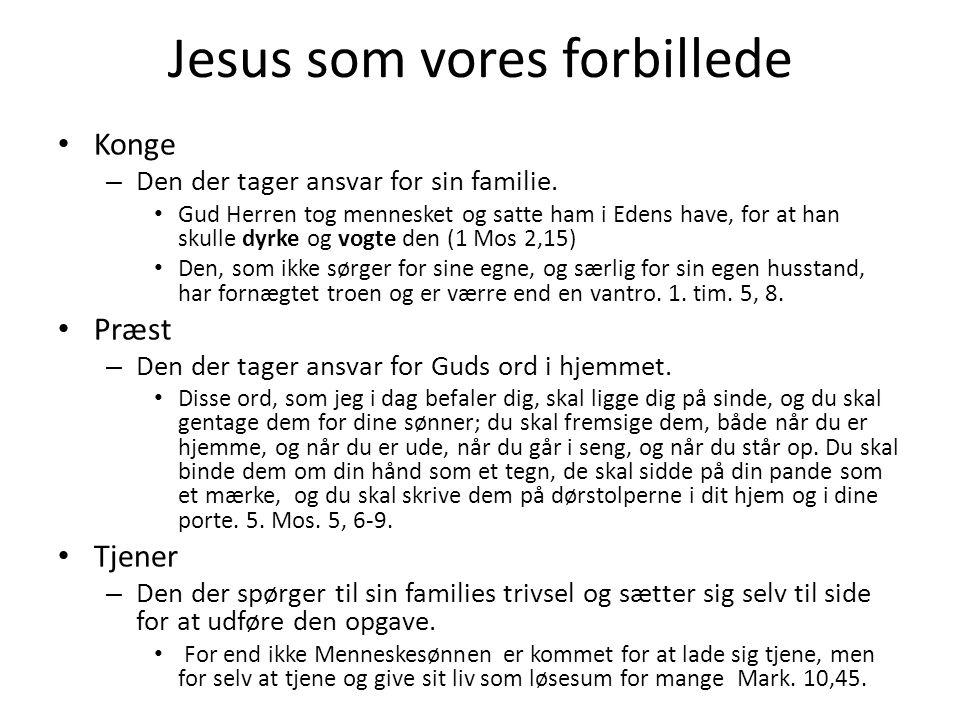 Jesus som vores forbillede
