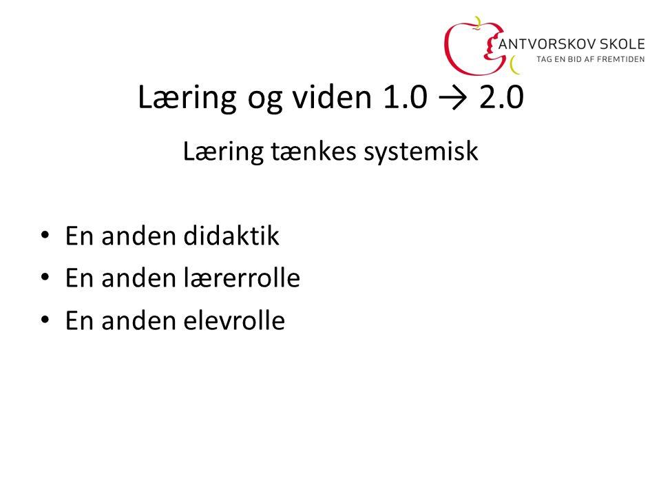 Læring tænkes systemisk