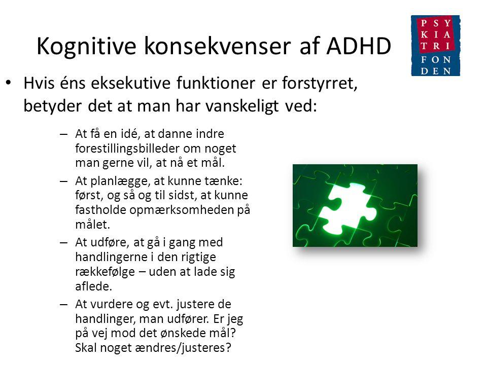 Kognitive konsekvenser af ADHD
