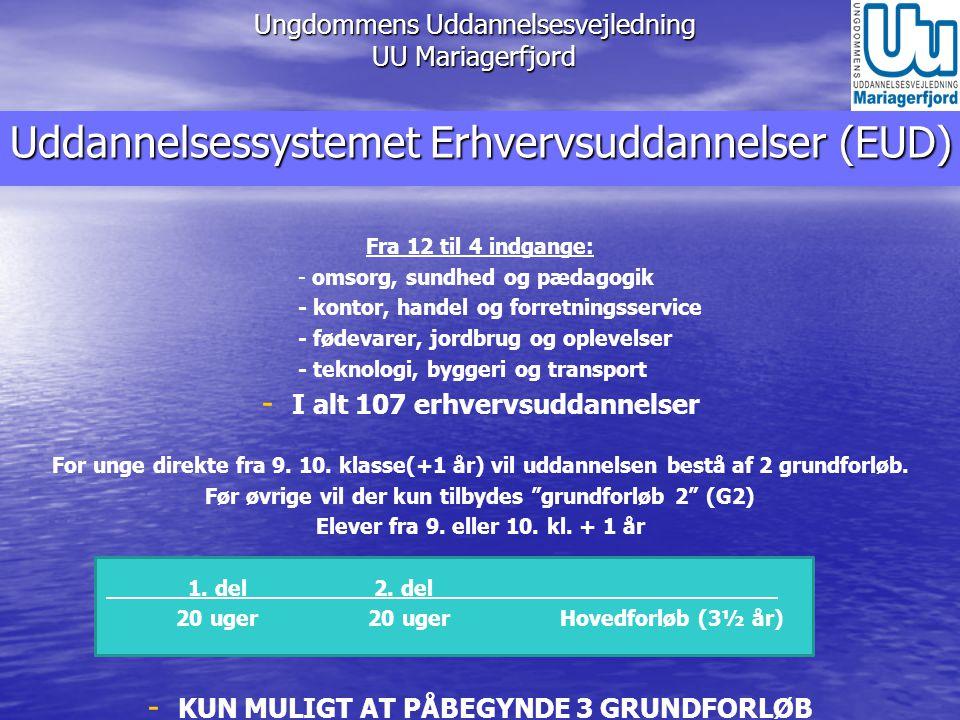 Ungdommens Uddannelsesvejledning UU Mariagerfjord