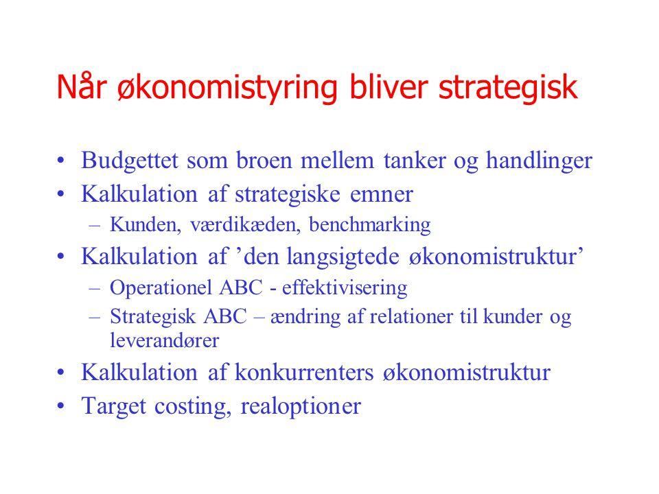Når økonomistyring bliver strategisk