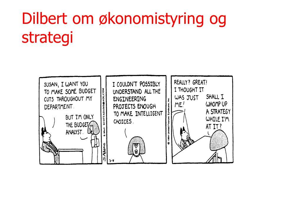 Dilbert om økonomistyring og strategi