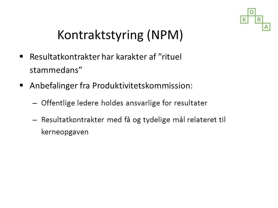 Kontraktstyring (NPM)
