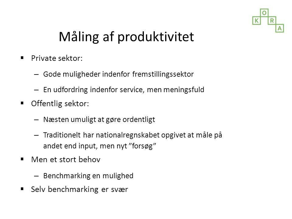 Måling af produktivitet
