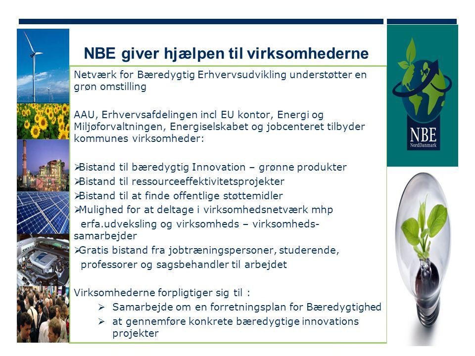 NBE giver hjælpen til virksomhederne