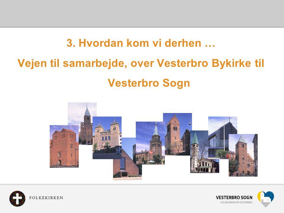 Vejen til samarbejde, over Vesterbro Bykirke til Vesterbro Sogn