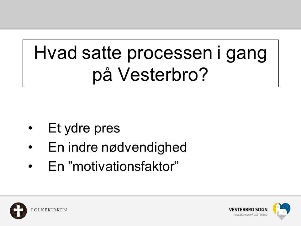 Hvad satte processen i gang på Vesterbro