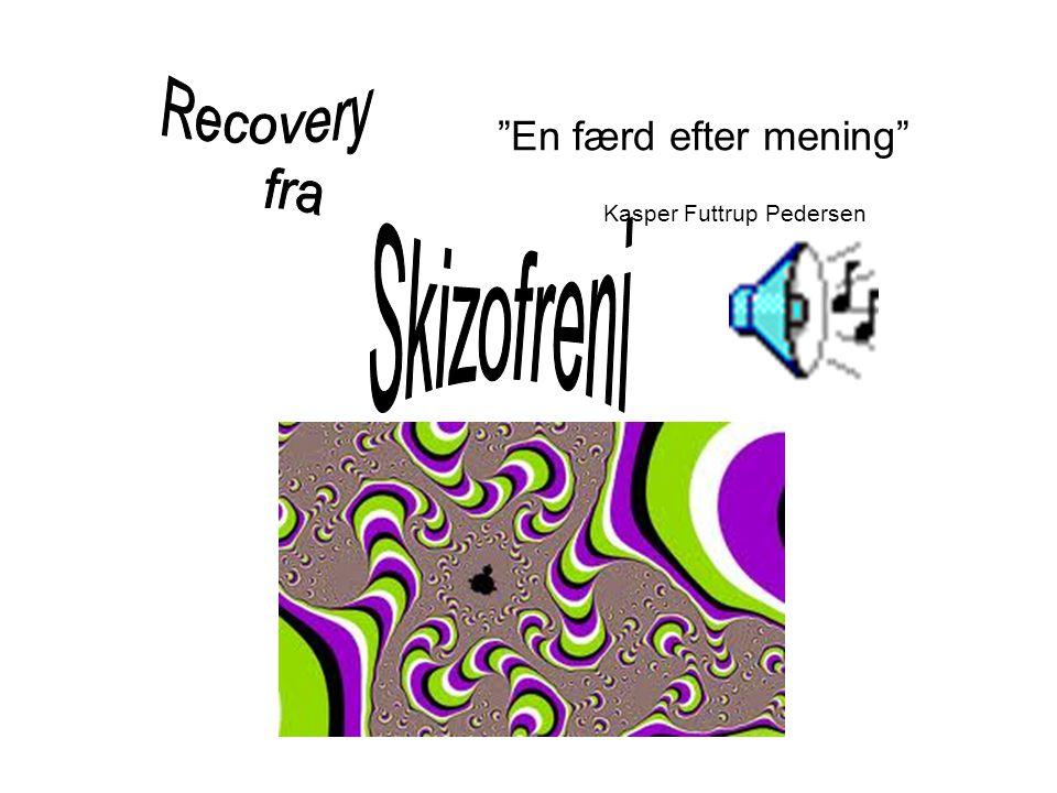 Recovery fra En færd efter mening Kasper Futtrup Pedersen Skizofreni