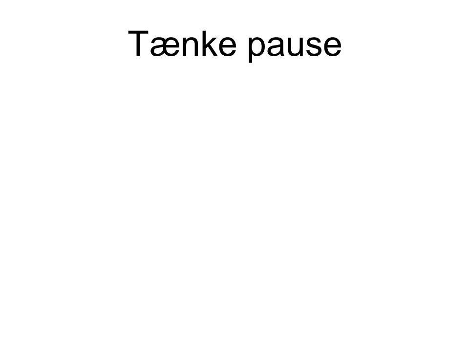 Tænke pause
