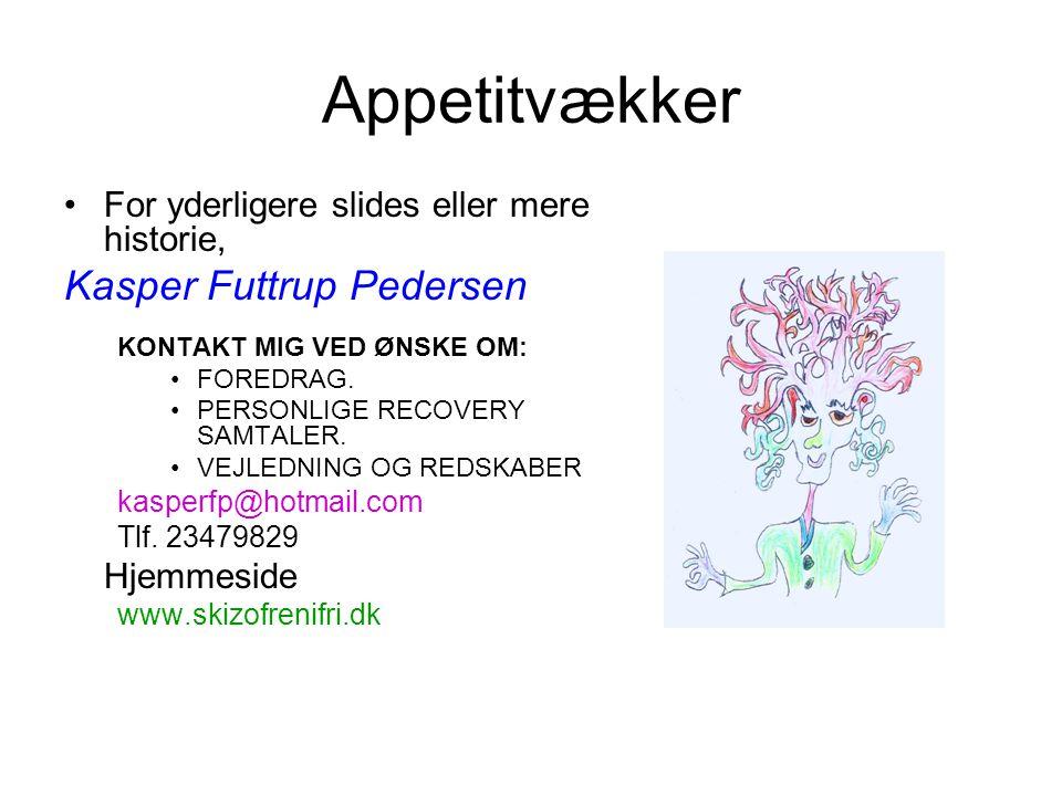 Appetitvækker Kasper Futtrup Pedersen