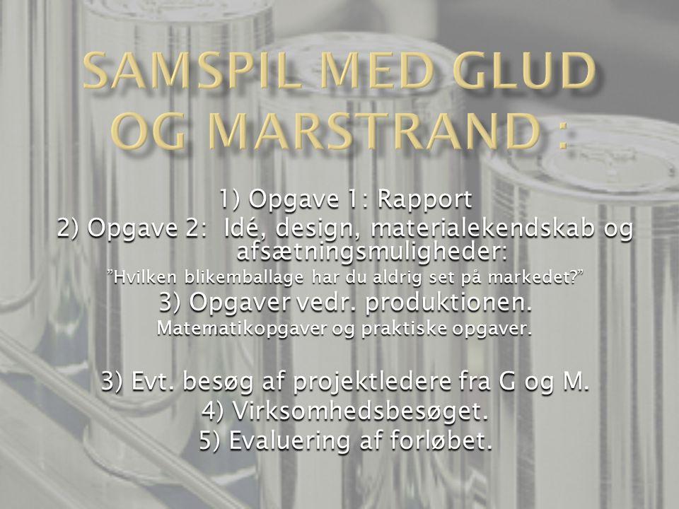 Samspil med Glud og Marstrand :