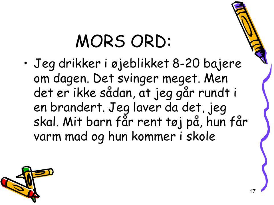 MORS ORD: