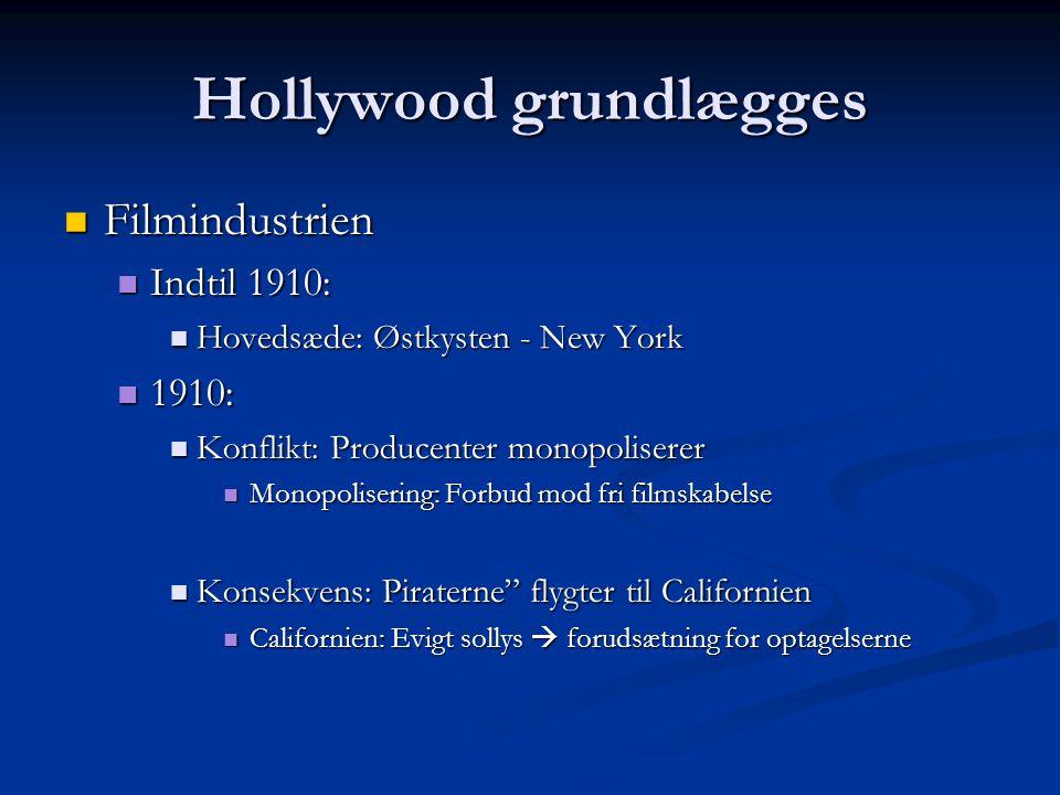 Hollywood grundlægges