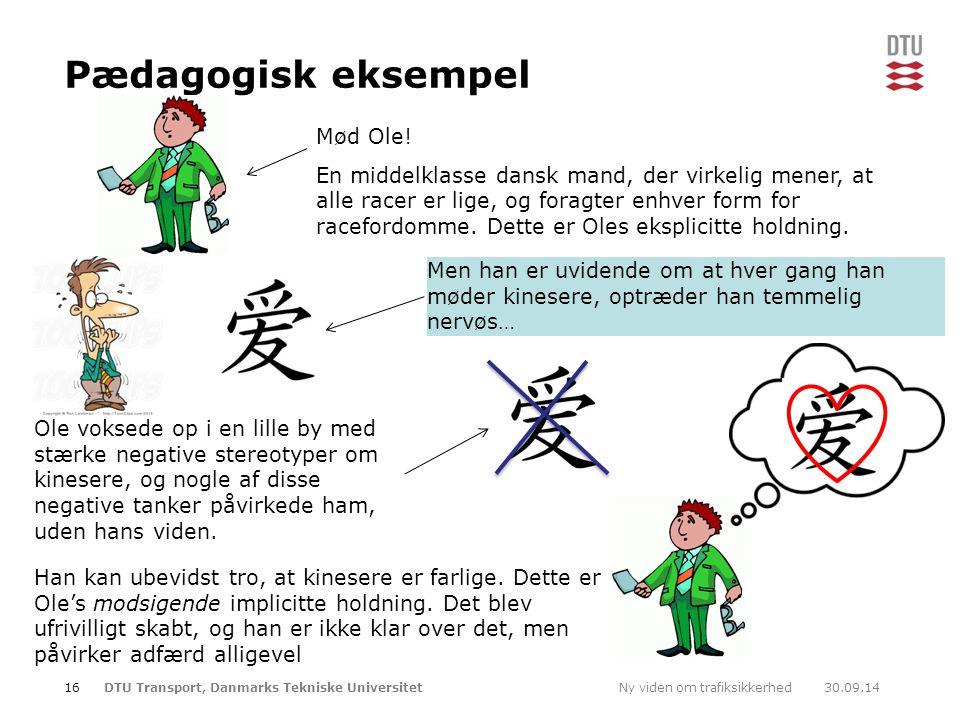 Pædagogisk eksempel Mød Ole!