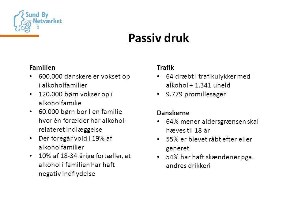Passiv druk Familien 600.000 danskere er vokset op i alkoholfamilier