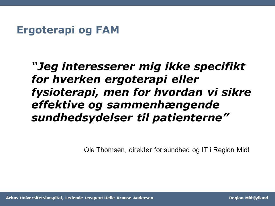 Ergoterapi og FAM