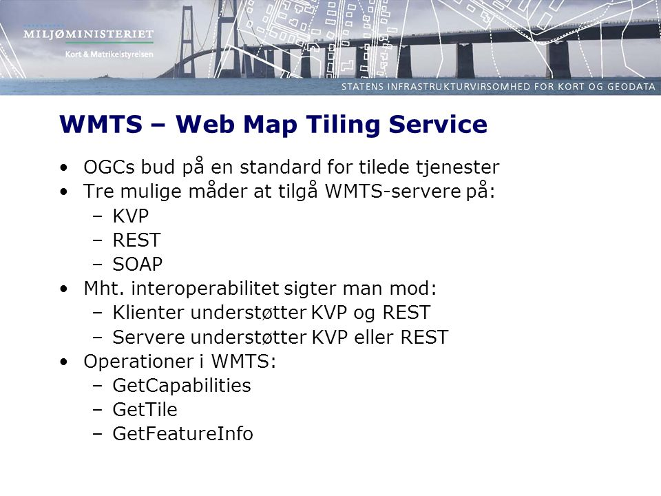 WMTS – Web Map Tiling Service