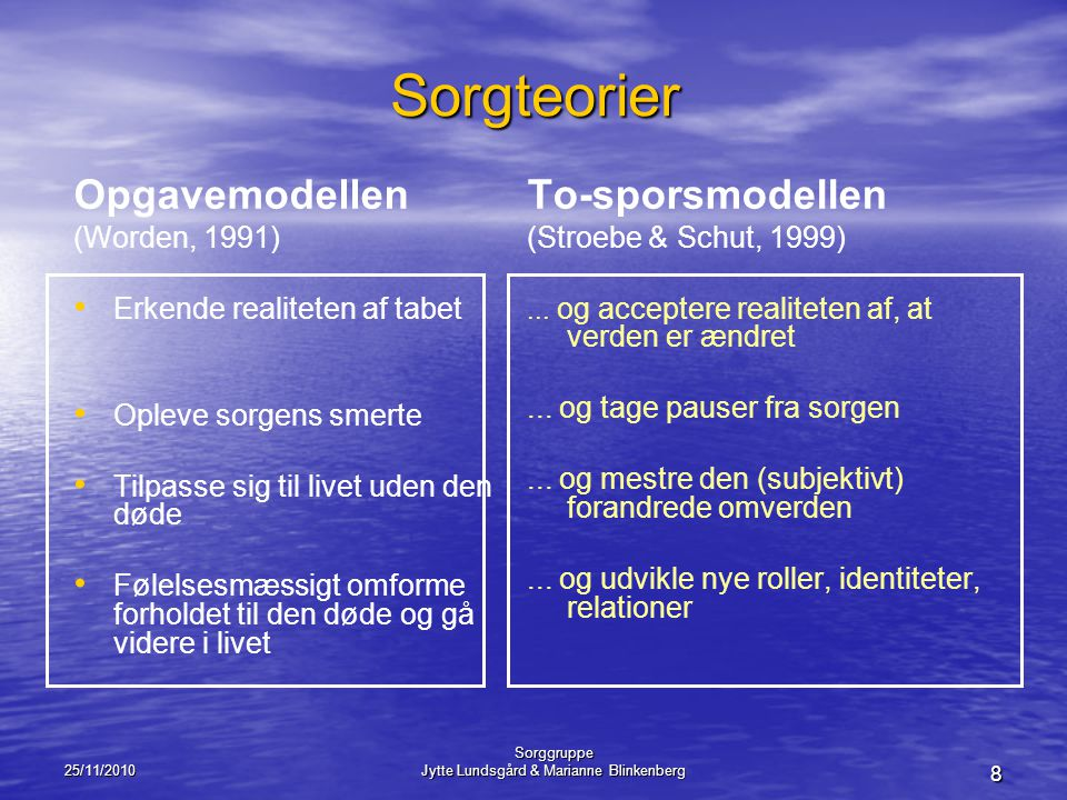 Jytte Lundsgård & Marianne Blinkenberg