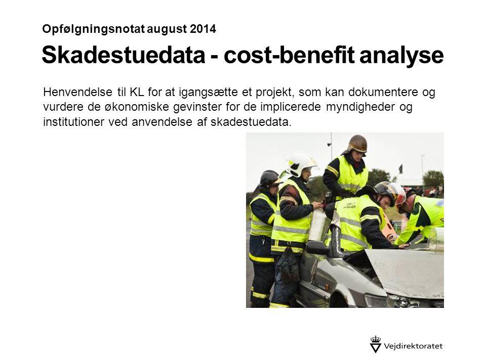 Skadestuedata - cost-benefit analyse