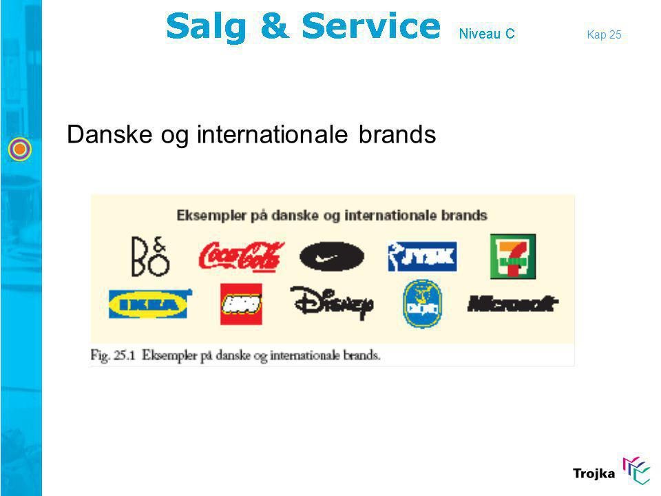 Danske og internationale brands