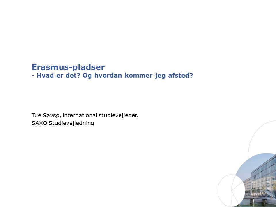 Erasmus-pladser - Hvad er det Og hvordan kommer jeg afsted